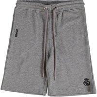 Real Madrid Fleece Shorts - Grey Marl - Junior