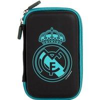 Real Madrid Handheld Games Case - Black - 21 x 11 x 4cm