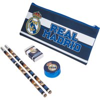 Real Madrid Stationery Set with Pencil Case
