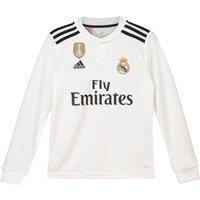 Real Madrid Home Shirt 2018-19 - Long Sleeve - Kids