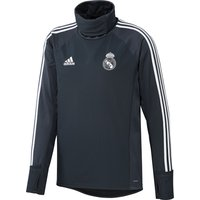 Real Madrid Training Warm Top - Dark Grey