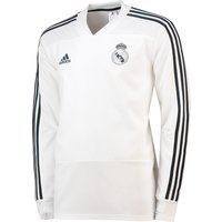 Real Madrid Training Top - White