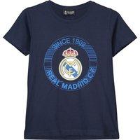 Real Madrid Since 1902 Printed T-Shirt - Navy - Boys