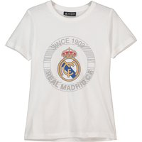 Real Madrid Since 1902 Printed T-Shirt - White - Boys
