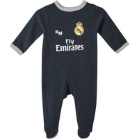 Real Madrid Away Kit Sleepsuit - Dark Green - Baby