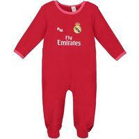 Real Madrid Third Kit Sleepsuit - Red - Baby