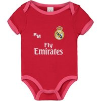 Real Madrid Third Kit Bodysuit - Red - Baby