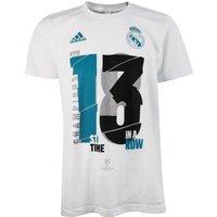 Real Madrid UCL 2018 Winners T-Shirt