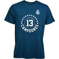 'Real Madrid 13 Times Winners T-shirt - Navy - Junior