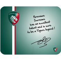 Leicester Tigers Personalised Tigers Legend Mouse Mat