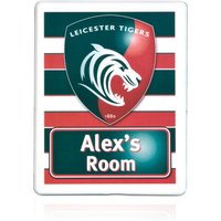 Leicester Tigers Personalised Door Plaques