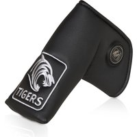 Leicester Tigers Executive Golf Blade Putter Cover and Ball Marker -Black/Silver