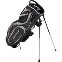 Leicester Tigers Executive Golf Stand Bag - Black/Silver