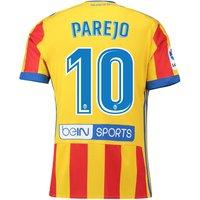 Valencia CF Third Shirt 2017-18 with Parejo 10 printing
