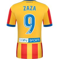 Valencia CF Third Shirt 2017-18 with Zaza 9 printing