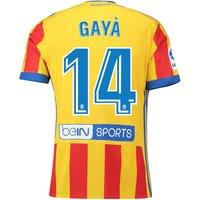 Valencia CFThird Shirt 2017-18 with Gayà 14 printing