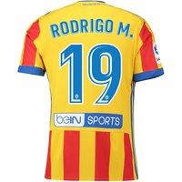 Valencia CF Third Shirt 2017-18 with Rodrigo M. 19 printing