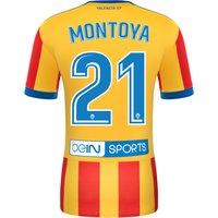 Valencia CF Third Shirt 2017-18 with Montoya 21 printing