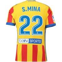 Valencia CF Third Shirt 2017-18 with S. Mina 22 printing