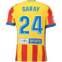 Valencia CF Third Shirt 2017-18 with Garay 24 printing