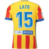 Valencia CF Third Shirt 2017-18 with Lato 15 printing