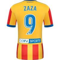 Valencia CF Third Shirt 2017-18 - Kids with Zaza 9 printing