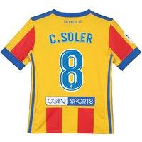 Valencia CF Third Shirt 2017-18 - Kids with C. Soler 8 printing