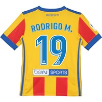 Valencia CF Third Shirt 2017-18 - Kids with Rodrigo M. 19 printing