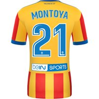 Valencia CFThird Shirt 2017-18 - Kids with Montoya 21 printing