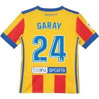Valencia CF Third Shirt 2017-18 - Kids with Garay 24 printing