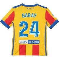 Valencia CF Third Shirt 2017-18 - Kids with Garay 24 printing