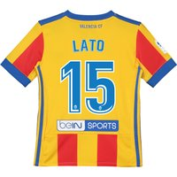 Valencia CF Third Shirt 2017-18 - Kids with Lato 15 printing