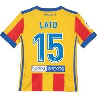 Valencia CF Third Shirt 2017-18 - Kids with Lato 15 printing