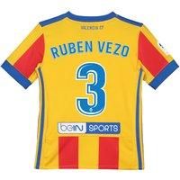 Valencia CF Third Shirt 2017-18 - Kids with Ruben Vezo 3 printing