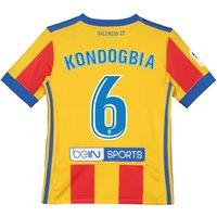 Valencia CF Third Shirt 2017-18 - Kids with Kondogbia 6 printing