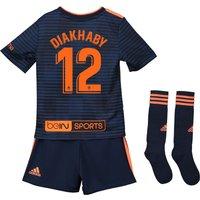 Valencia CF Away Mini Kit 2018-19 with Diakhaby 12 printing