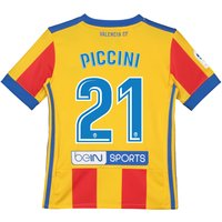 Valencia CF Third Shirt 2017-18 - Kids with Piccini 21 printing