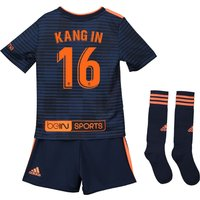 Valencia CF Away Mini Kit 2018-19 with Kang In 16 printing
