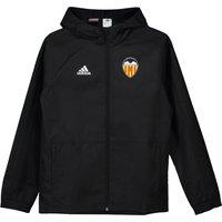 Valencia CF Training Rain Jacket - Black/White - Kids