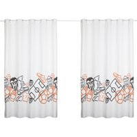 Valencia CF Curtain Set - 200cm