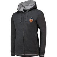 Valencia CF Zip-Thru Hoodie - Grey - Mens