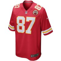 NFL Kansas City Chiefs (Travis Kelce) Men's American Football Game Jersey - Red