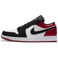 Air Jordan 1 Low Men's Shoe - White (553558-116)