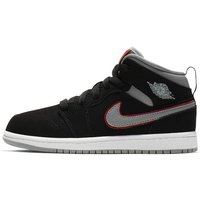 Air Jordan 1 Mid Younger Kids' Shoe - Black