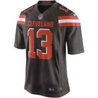 NFL Cleveland Browns (Odell Beckham Jr.) Men's Game American Football Jersey - Brown