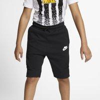 Nike Sportswear Tech Fleece Older Kids' Shorts - Black