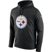 Nike Circuit Logo Essential (NFL Steelers) Men's Pullover Hoodie - Black