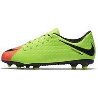 Nike Jr. Hypervenom Phade 3 Younger/Older Kids' Firm-Ground Football Boot - Green
