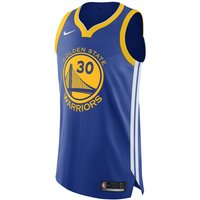 Stephen Curry Warriors Icon Edition Nike NBA Authentic Jersey - Blue