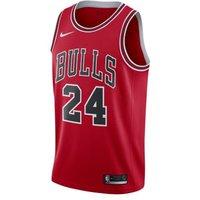 Мужское джерси Nike НБА Swingman Lauri Markkanen Bulls Icon Edition фото